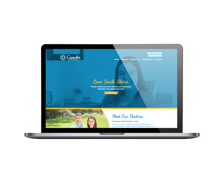 Orthodontic Web Design
